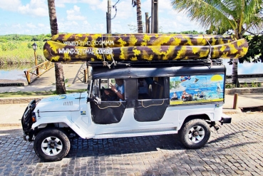 Jeep Tour Castelo Garcia D''Avila + Floresta Sapiranga