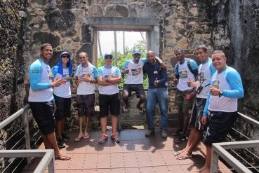 Cursos de Primeiros Socorros + Castelo Garcia D'Avila - Equipe Portomar