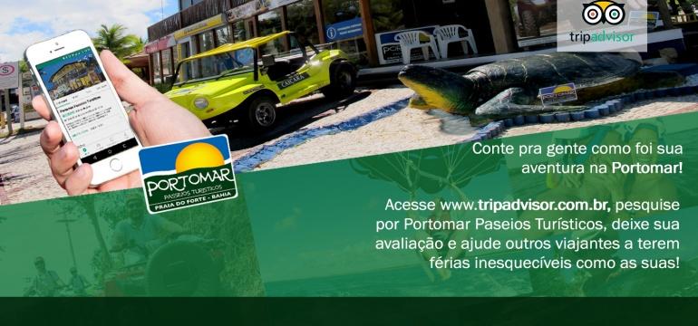 Agradecimentos Avaliações TripAdvisor - Avalie você também!